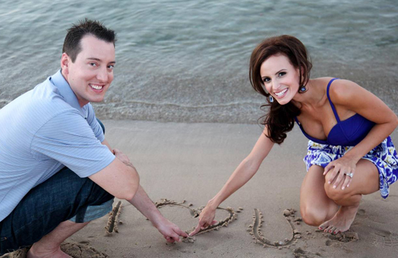 Kyle and Samantha Busch pic